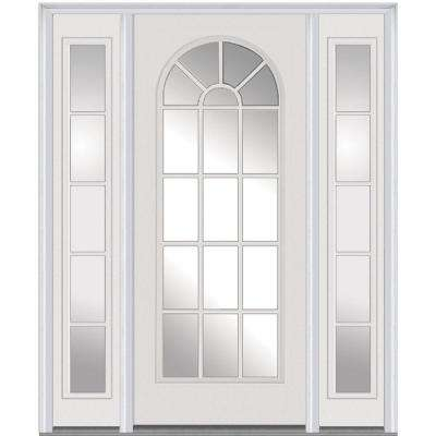 60 ...  sc 1 st  The Home Depot & White - No panel - Single door with Sidelites - Front Doors ... pezcame.com