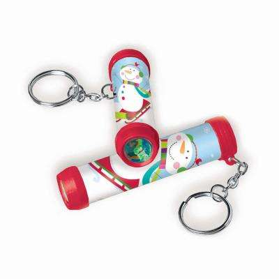 Winter Christmas Clip On Kaleidoscopes (12-Count 3-Pack)