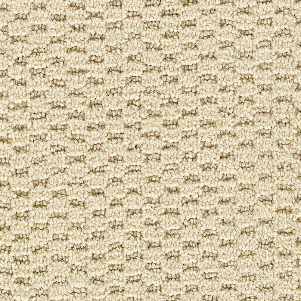 Martha Stewart Living Sandringham Toasted Marshmallow - 6 in. x 9 in. Take Home Carpet Sample