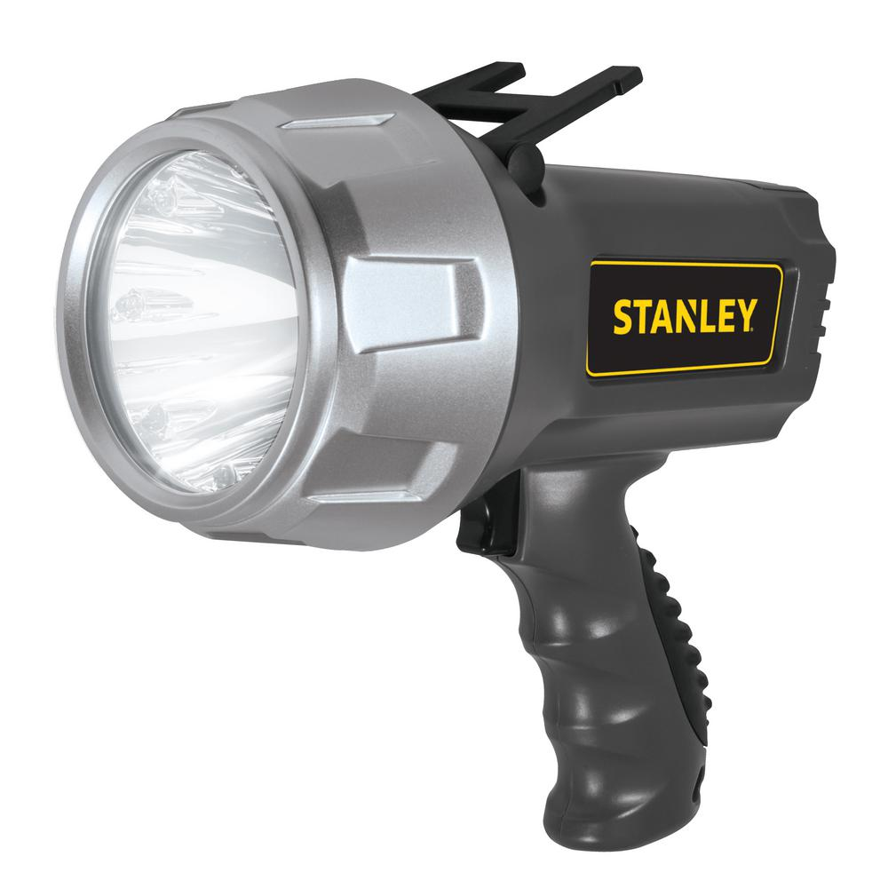 Stanley 5 Watt Led Rechargeable Spotlight: Stanley Rechargeable 900 Lumen LED Lithium-Ion Spotlight