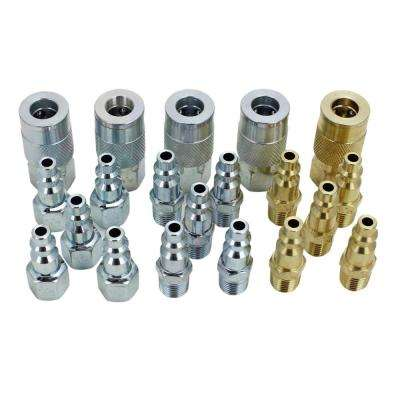 20-Piece Coupler and Plug Kit