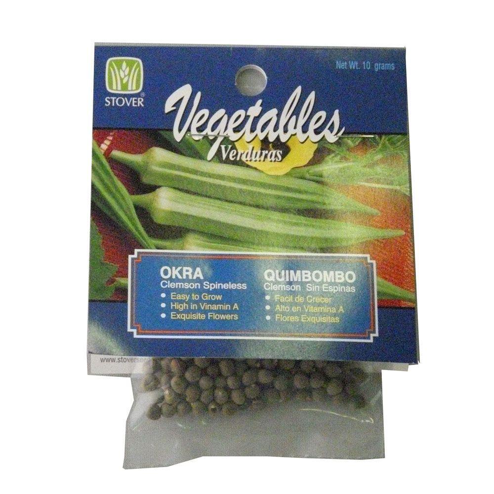 Okra Clemson Spineless Seed