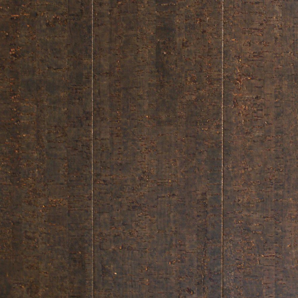 Take Home Sample Slate Cork Flooring 5 In X 7