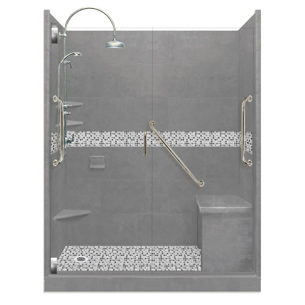 Del Mar Freedom Luxe Hinged 30 in. x 60 in. x