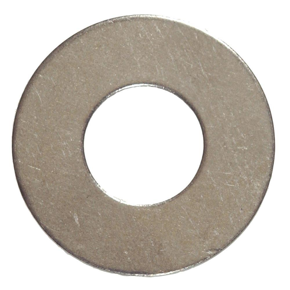The Hillman Group 1/4 in. Stainless-Steel Flat Washer (25-Pack)-2229 - The  Home Depot