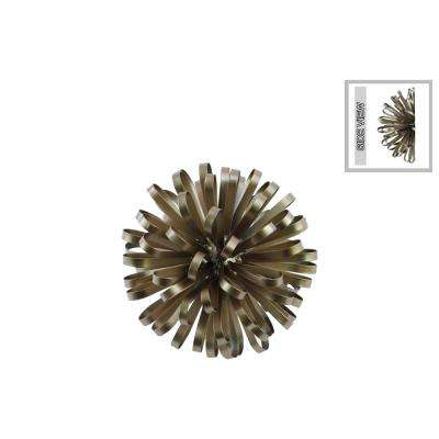 3.50 in. H Sculpture Decorative Sculpture in Champagne Electroplated