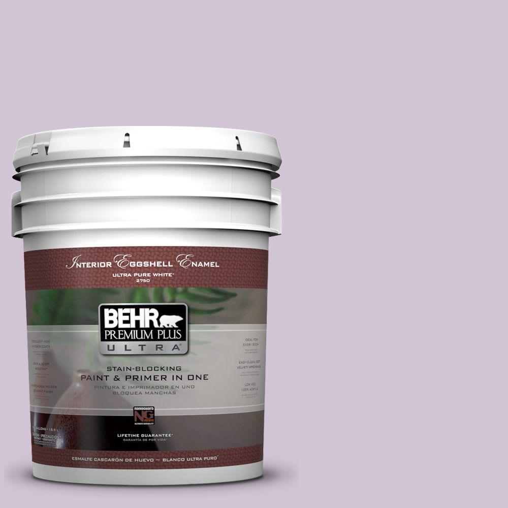 5-gal. #M100-2 Seedless Grape Eggshell Enamel Interior Paint