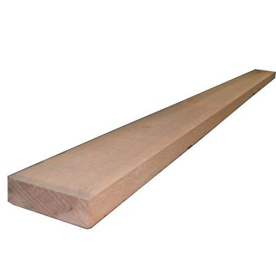 2 in. x 6 in. x 8 ft. Rough Green Western Red Cedar Lumber