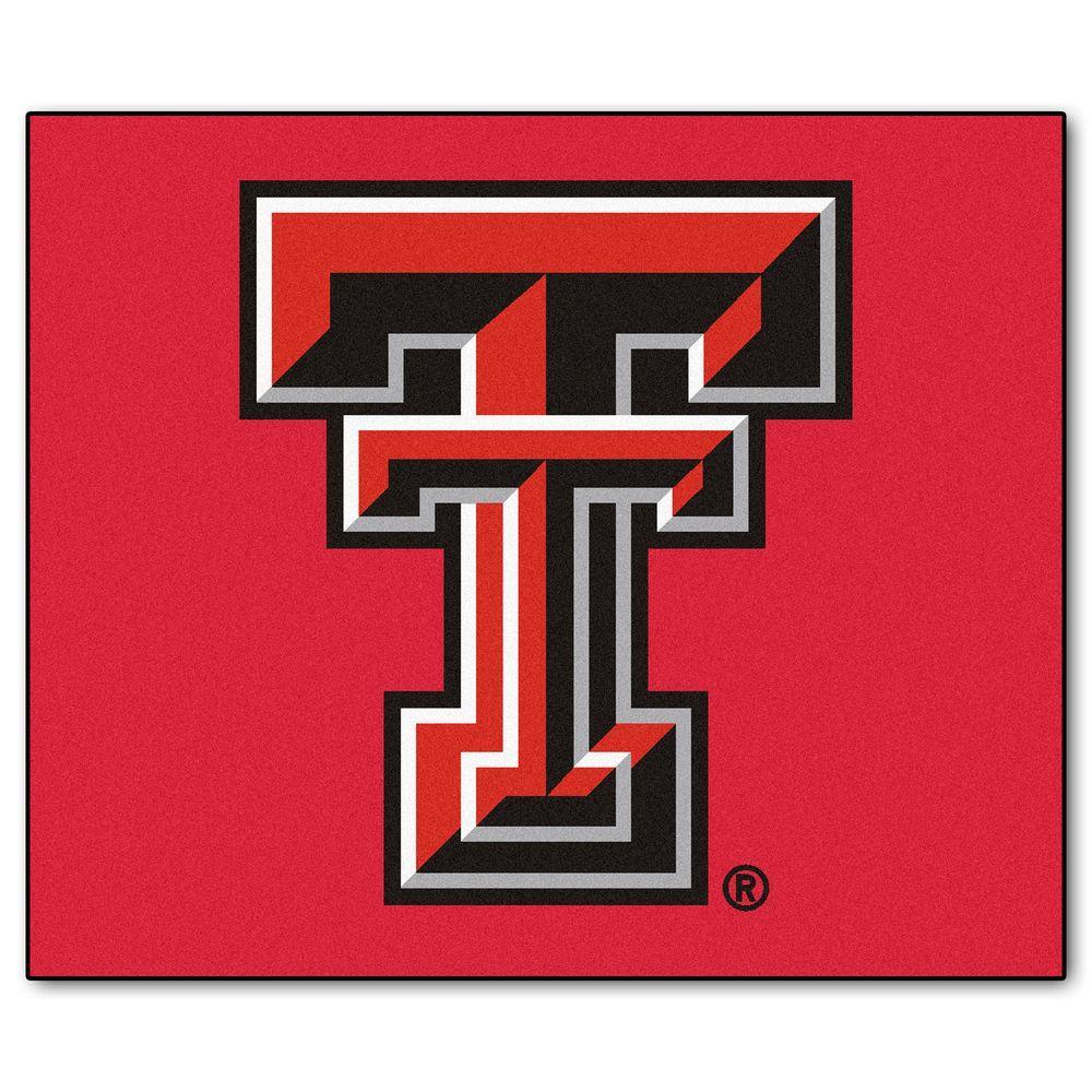 Fanmats Texas Tech University 5 Ft X 6 Ft Tailgater Rug