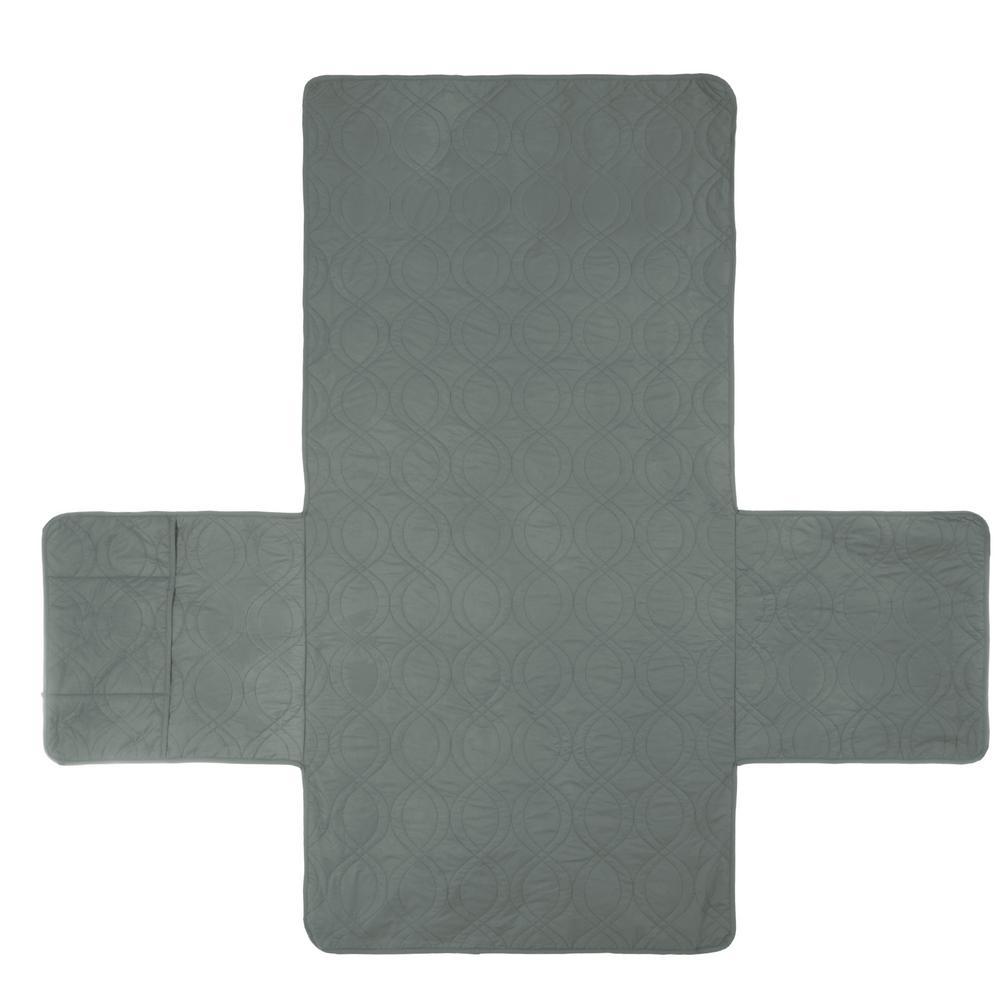 Non-Slip Gray Waterproof Chair Slipcover