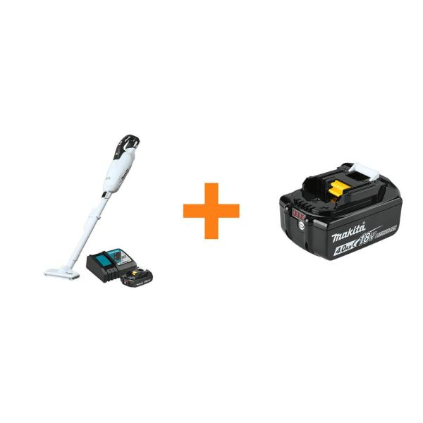 18-Volt LXT Lithium-ion Compact Handheld Brushless Cordless 3-Speed Vacuum Kit, with bonus 18V 4.0Ah LXT Battery