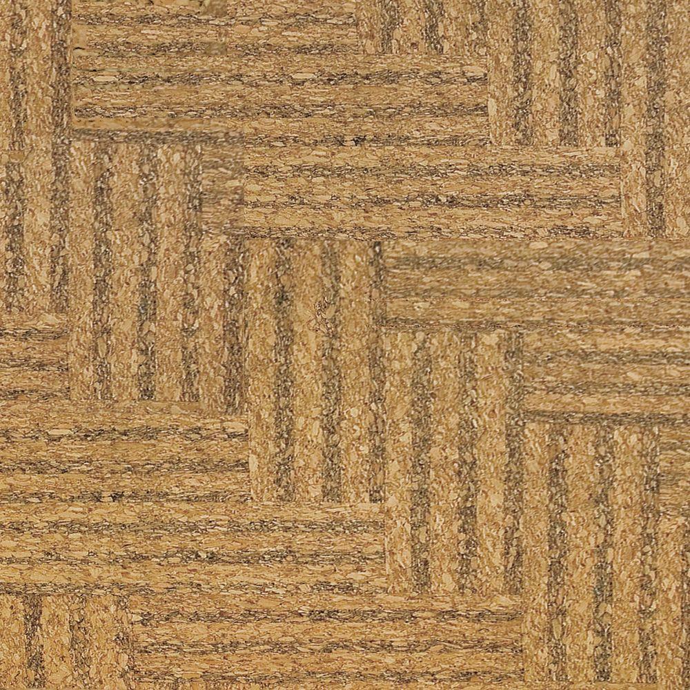 Home Legend Natural Herringbone 1/2 in. Thick x 11-3/4 in. Wide x 35-1/2 in. Length Cork Flooring (23.17 sq. ft. / case)