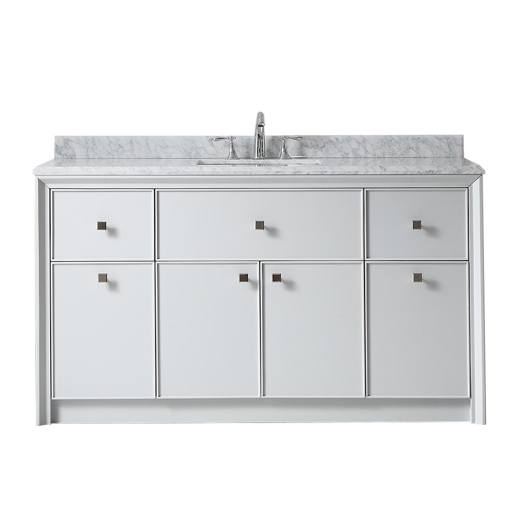 Parrish 60 in. W x 22 in. D Bath Vanity in
