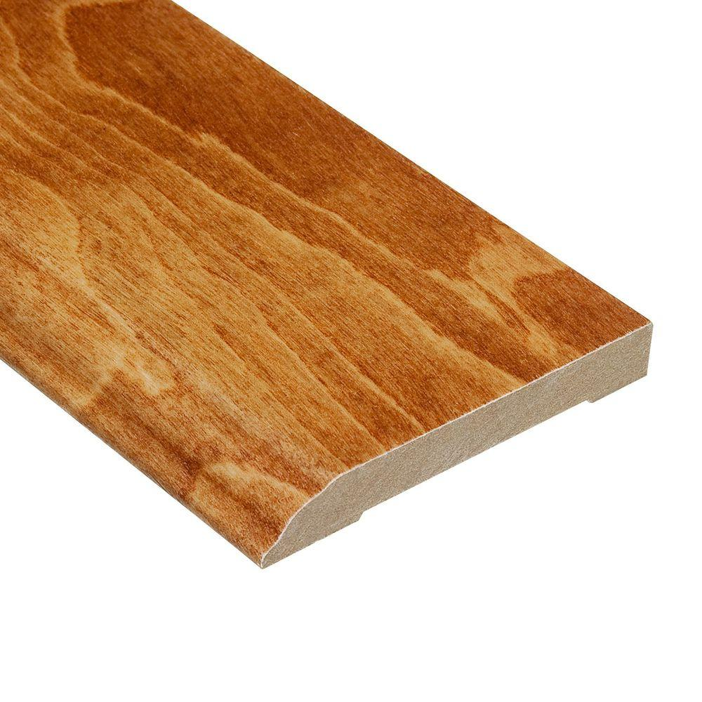 Home Legend Maple Durham 1/2 in. Thick x 3-1/2 in. Wide x 94 in. Length Hardwood Wall Base Molding