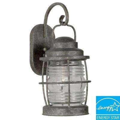 Beacon Flint Large Indoor and Outdoor Wall Lantern