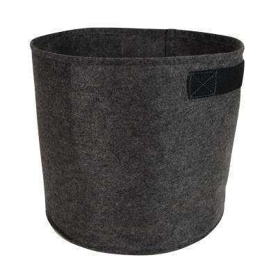 Down and Dirty 5 Gal. Charcoal Fabric Planter with Handles