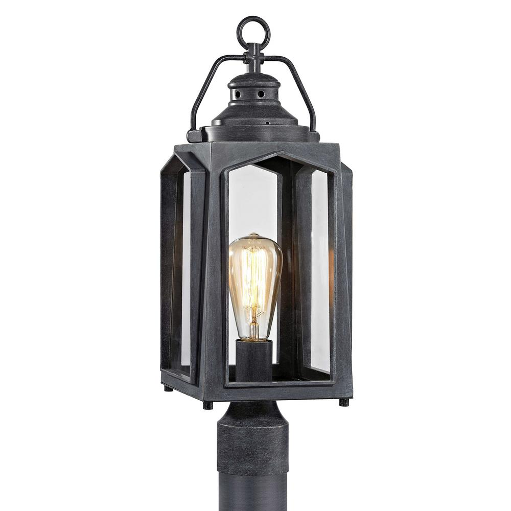 Home Decorators Collection 1-Light Charred Iron Outdoor