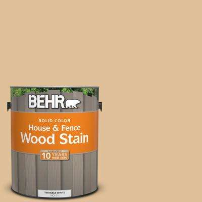 1 gal. #300E-3 Clair De Lune Solid Color House and Fence Exterior Wood Stain