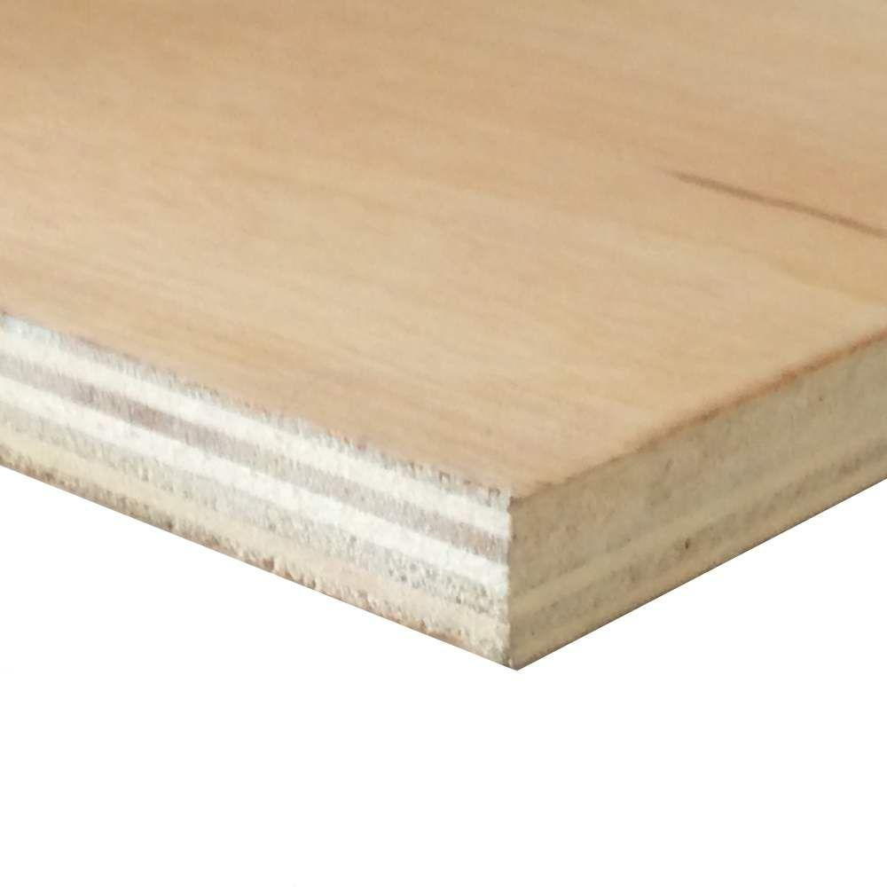 Prefinished Birch Plywood (Common: 1/2 In. X 4 Ft. X 8 Ft