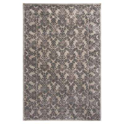 Silver Tranquility 5 ft. 3 in. x 7 ft. 8 in. Area Rug