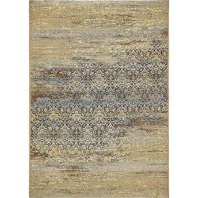 Outdoor Transitional Beige 4' 0 x 6' 0 Area Rug
