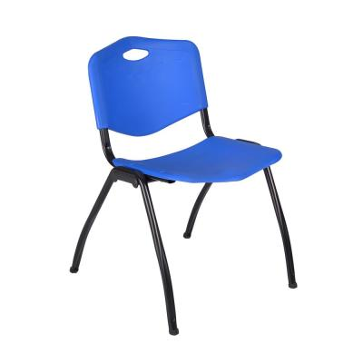 'M' Blue Stack Chair