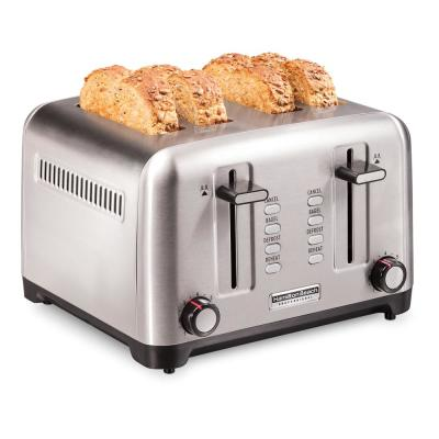 Pro 4-Slice Stainless Steel Wide Slot Toaster