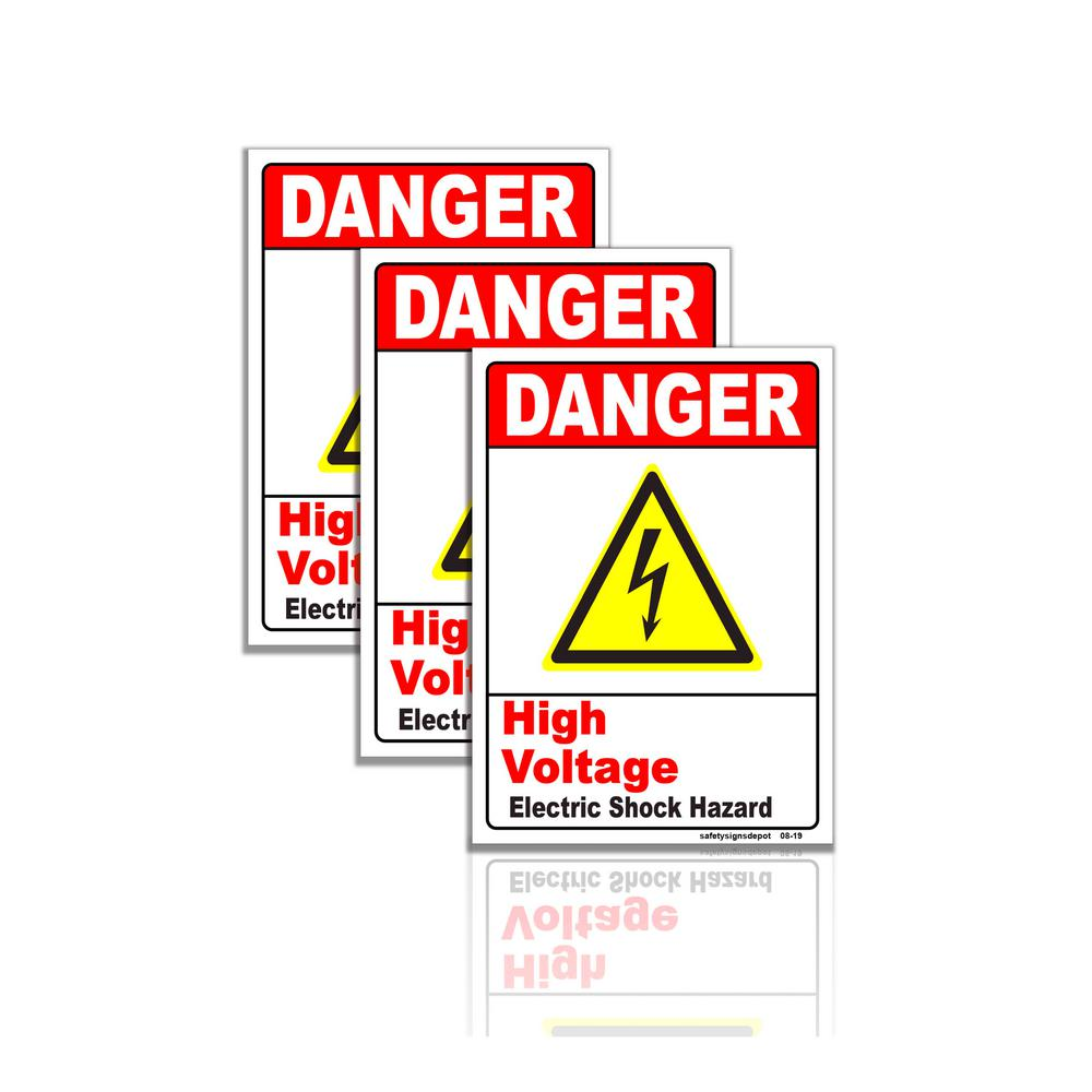 Warning Anti Climb Paint Plastic Sign Or Sticker Choice Of Sizes Hazard Caution