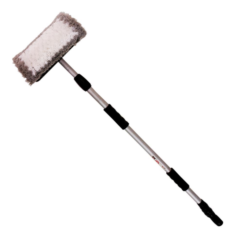Bi-Level Flow-Thru Wash Brush
