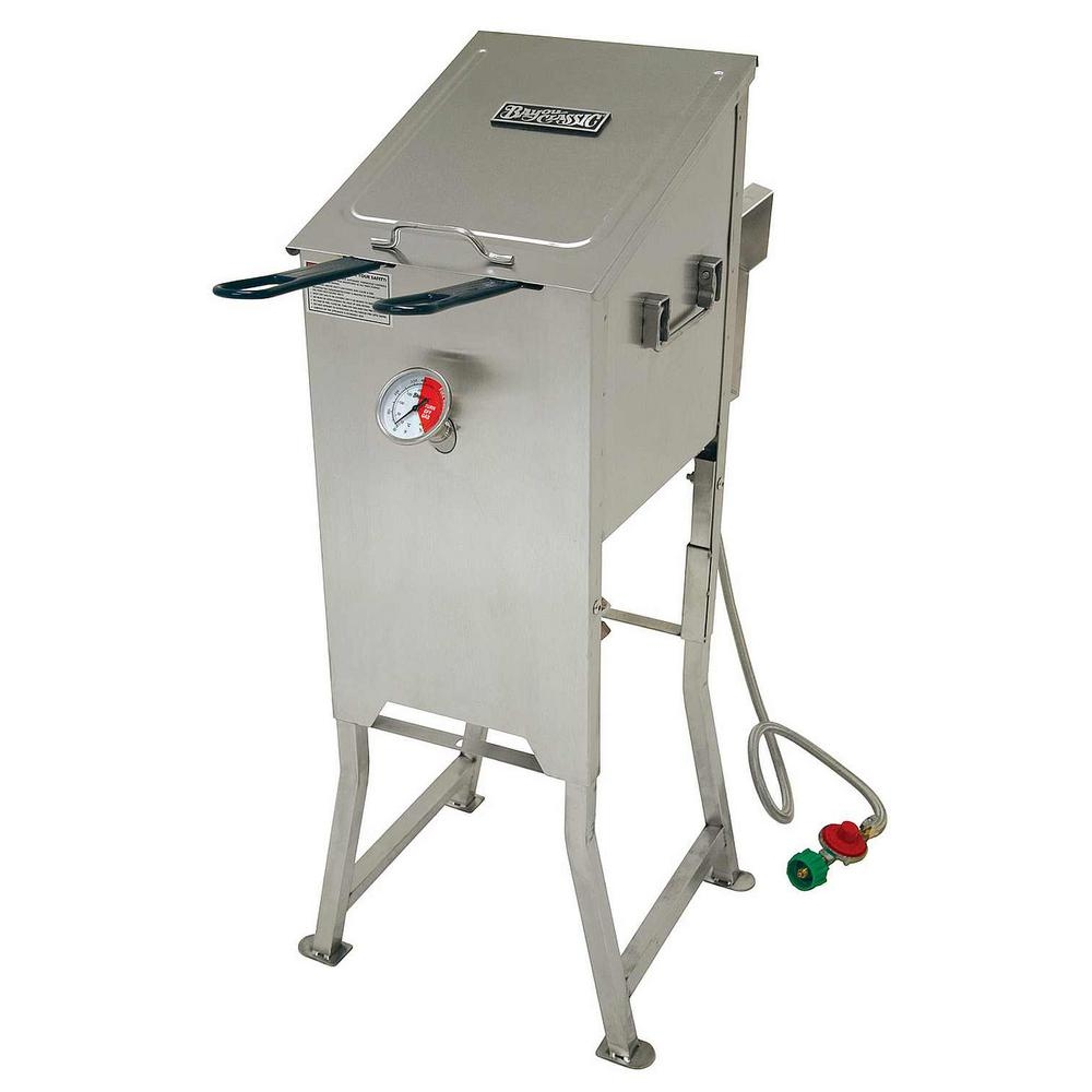 Bayou Classic 4 Gal. Fryer with 2 Stainless Steel Baskets
