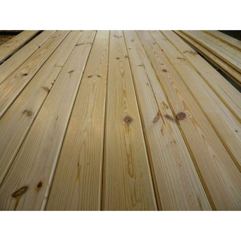 1 In X 4 In X 10 Ft Southern Yellow Pine Tongue And Groove Flooring Board 0009560 The Home Depot