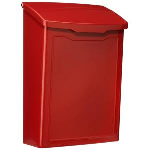 Architectural Mailboxes Marina Red Wall Mount Mailbox by Architectural Mailboxes
