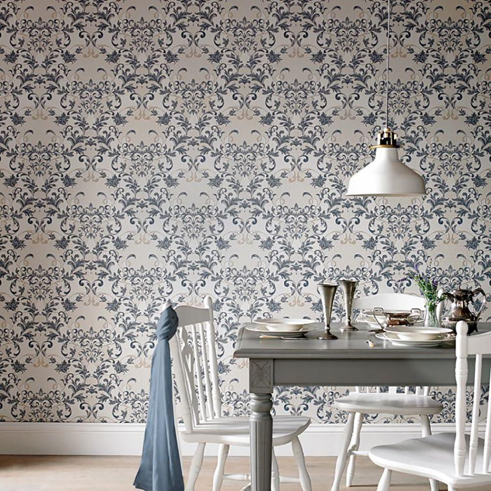 Graham & Brown 56 sq. ft. Abigail Wallpaper