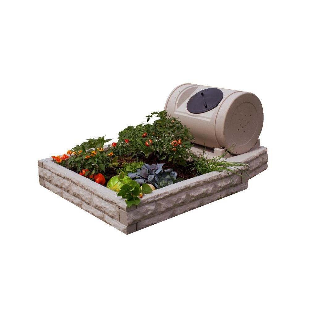 Hybrid Sandstone Raised Garden Bed