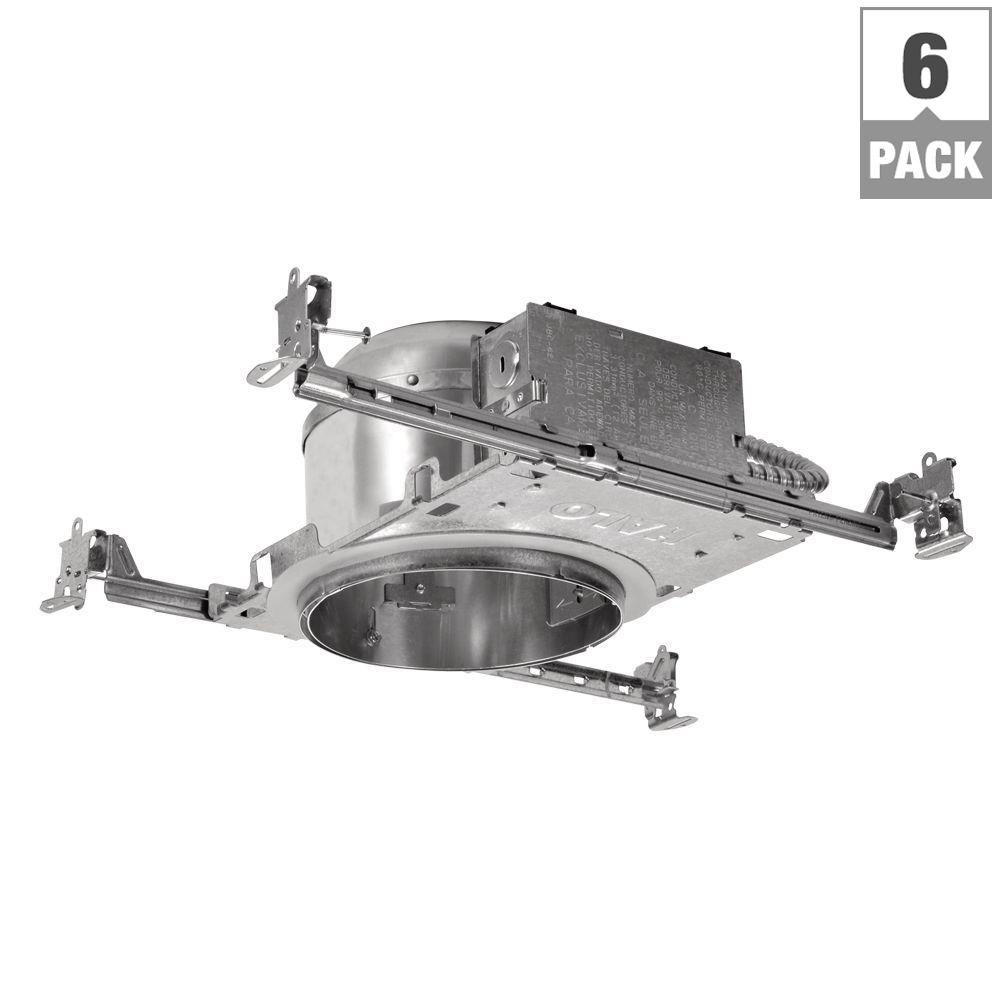 halo h2750 6 in aluminum led recessed lighting housing for new