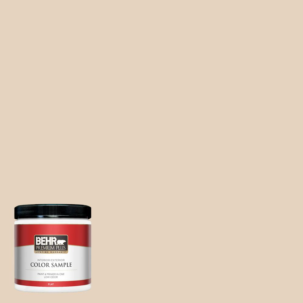 Behr Premium Plus 8 Oz Ppf 22 Inviting Veranda Flat Interior
