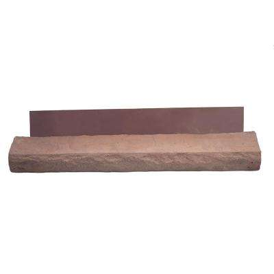 3.5 in. x 23.5 in. Brown Stone Vaneer Sills