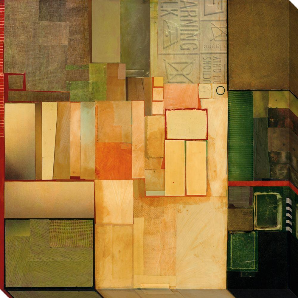 NEP Art 40 in. x 40 in. Assemble II Oversized Canvas Gallery Wrap
