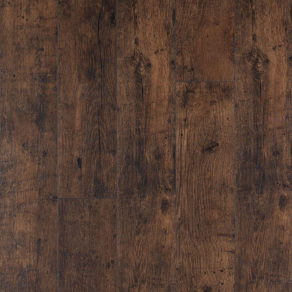 Pergo XP Rustic Espresso Oak 10 Mm Thick X 6 1 8 In Wide 54 11 32 Length Laminate Flooring 2086 Sq Ft Case LF000822