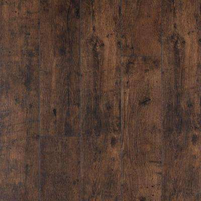XP Rustic Espresso Oak 10 mm Thick x 6-1/8 in. Wide x 54-11/32 in. Length Laminate Flooring (20.86 sq. ft. / case)