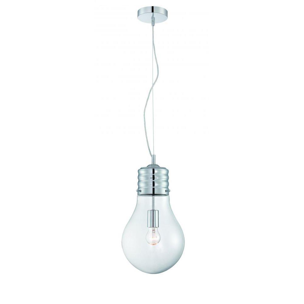 Chrome Pendant Lights Lighting The Home Depot