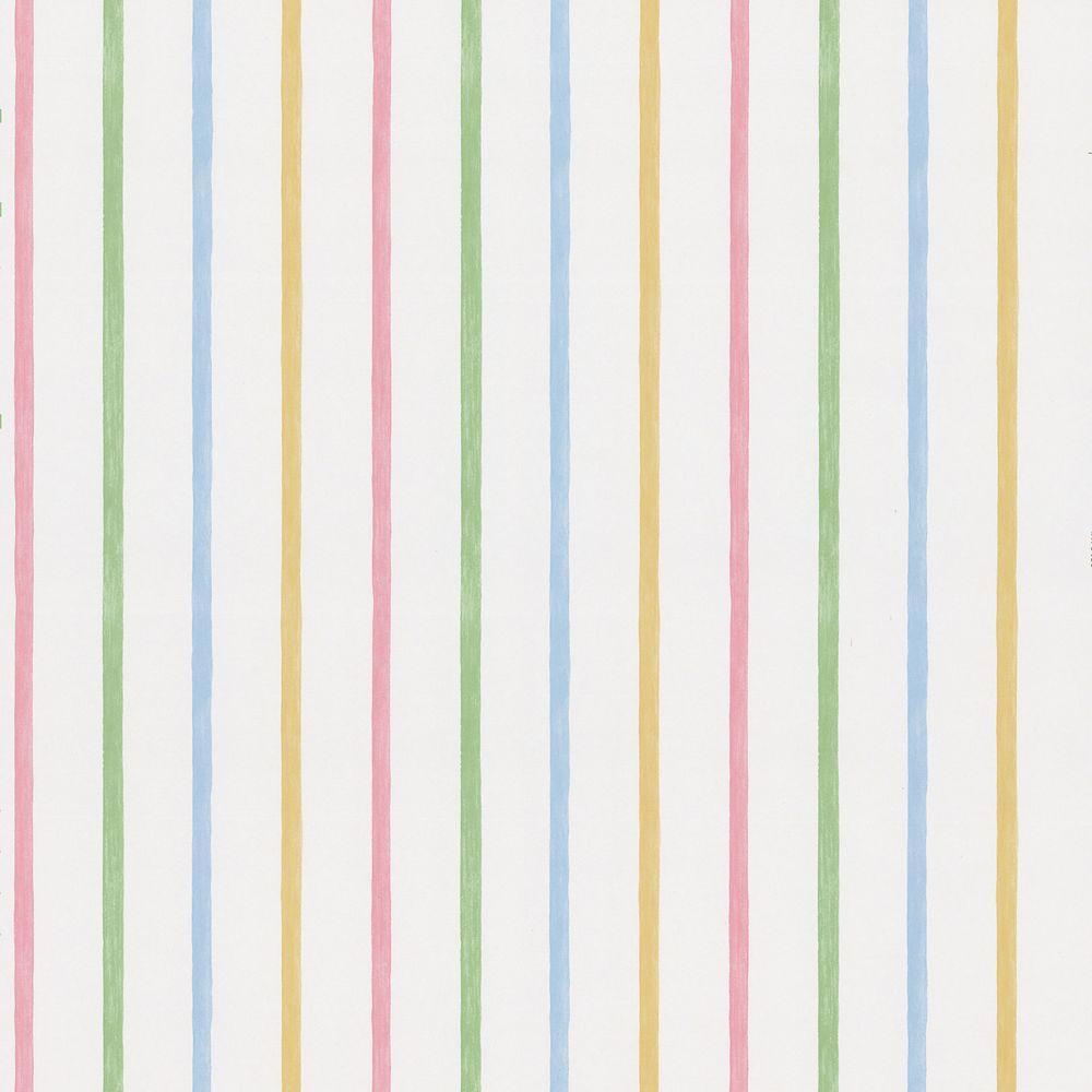 Brewster Vineyard Multicolor Stripes Wallpaper