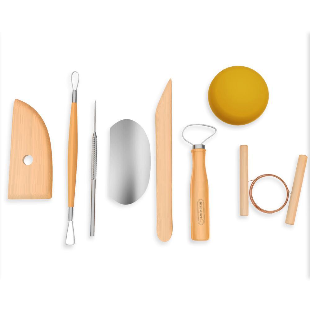 8-Piece Pottery Tool Kit