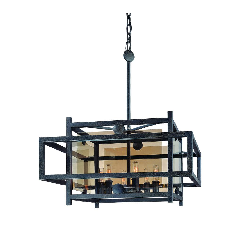 crosby collection large pendant light. Perfect Crosby Crosby 6Light French Iron Pendant To Collection Large Light N