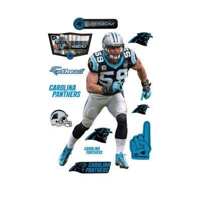 78 in. H x 56 in. W Luke Kuechly - Linebacker Wall Mural