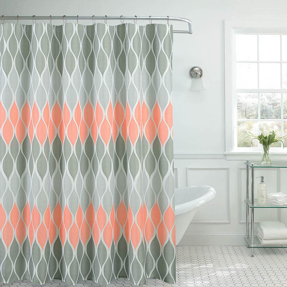 Blush Textured Shower
