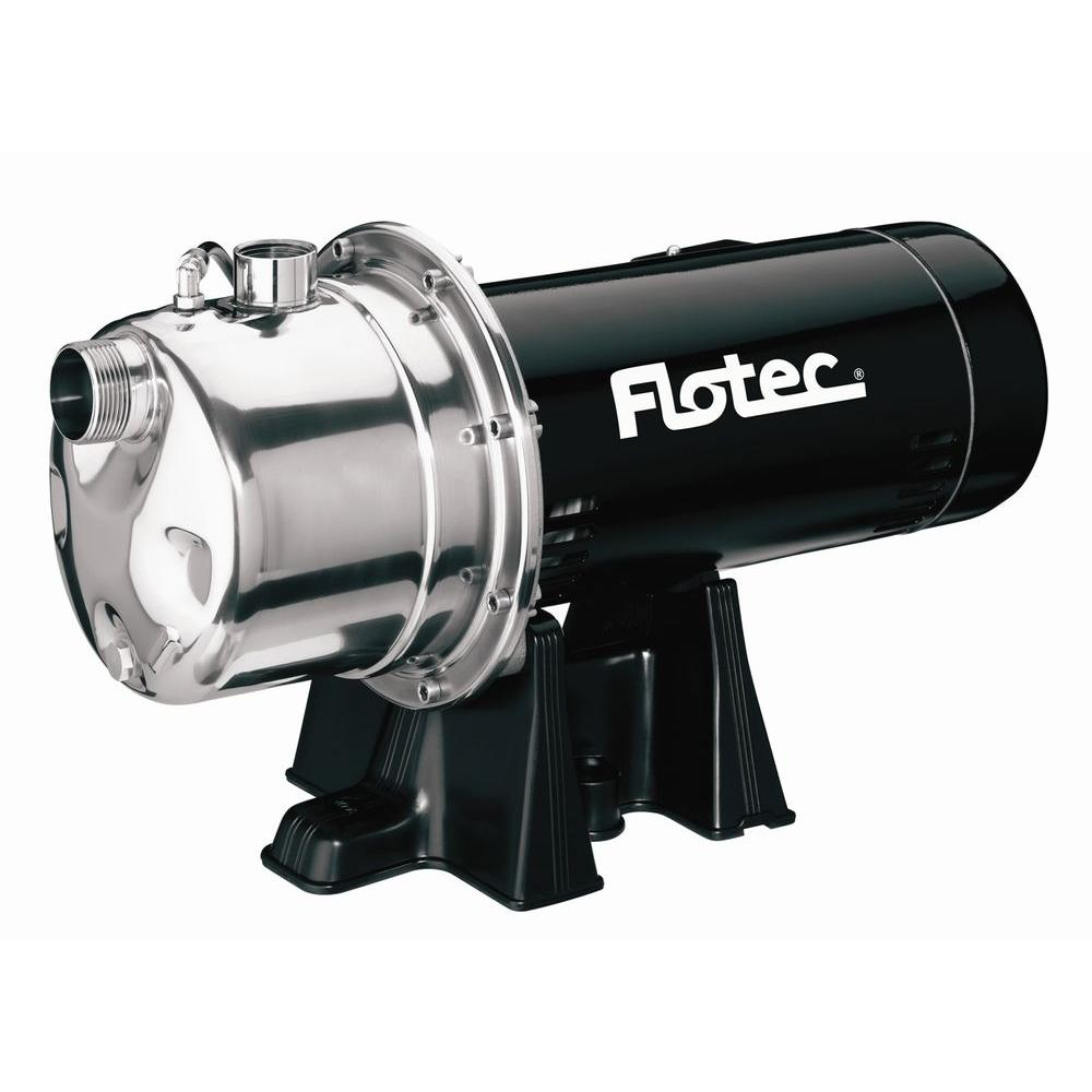Flotec 1 HP Stainless Steel Shallow-Well Jet Pump