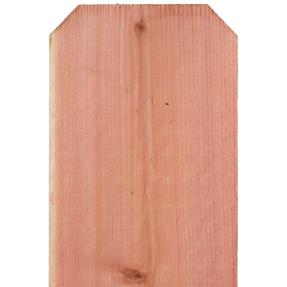 11/16 in. x 11-1/2 in. x 6 ft. Construction Common Redwood