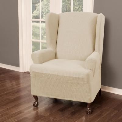Wing Chair - Slipcovers - Living Room Furniture - The Home Depot