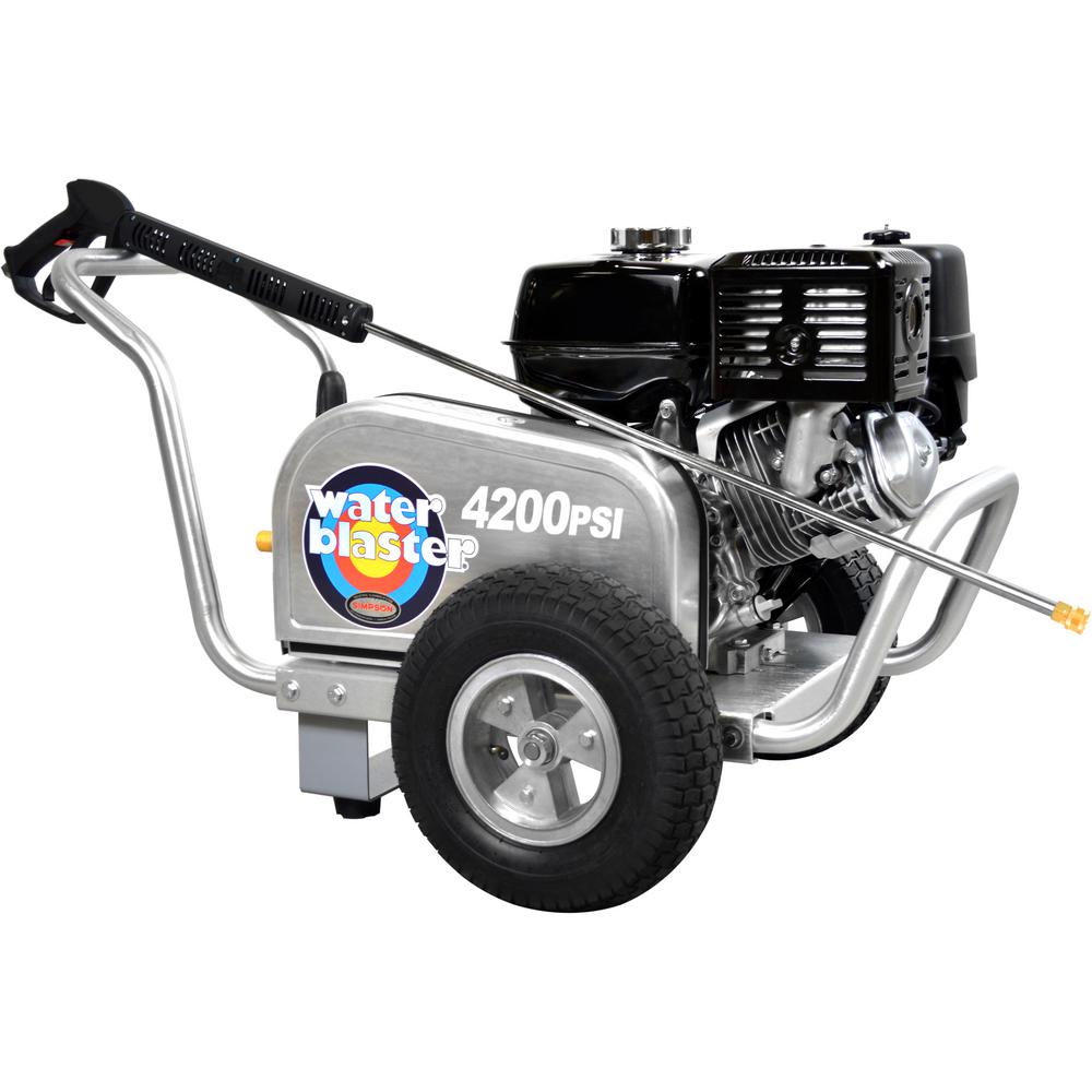 Simpson SIMPSON ALWB60827 4200 PSI at 4.0 GPM Gas Pressure Washer Powered by HONDA GX390